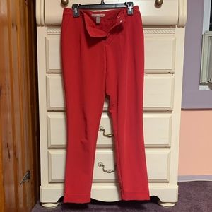 Forever 21 size 2 red pants